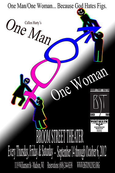 One Manone Woman - Broom Street Theater-2564