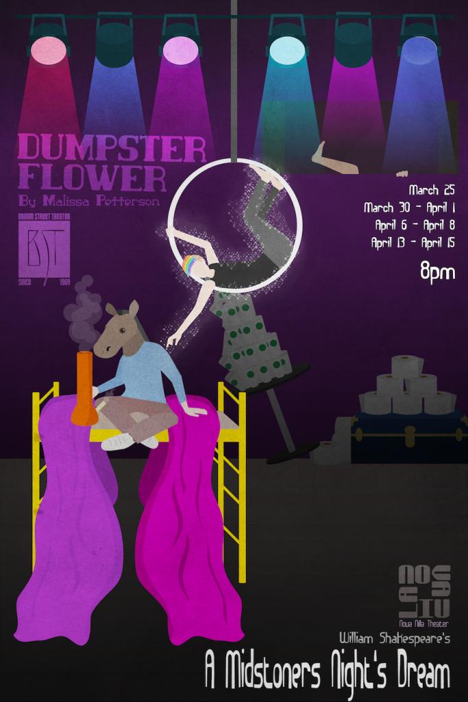 Dumpster Flower Poster